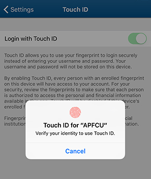 Touch ID - Step 3