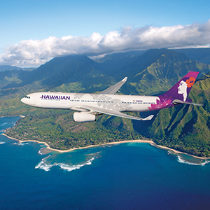 You could win 5,000 HawaiianMiles